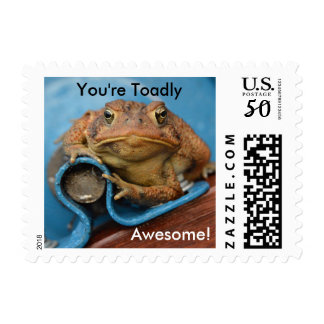 You're Toadly Awesome! Postage