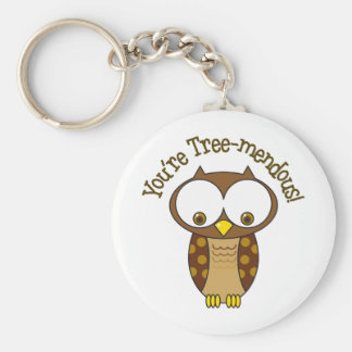 You're Tree-Mendous Keychain
