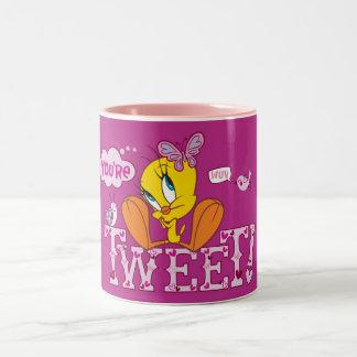 You're Tweet Two-Tone Coffee Mug