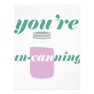 You're Un-Canning Letterhead