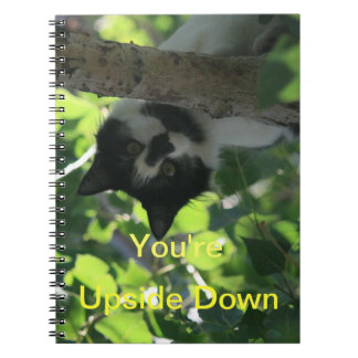 You're Upside Down Notebook