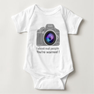 You're Warned! Baby Bodysuit