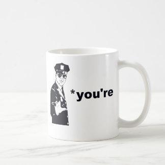 You're Your Grammar Police Coffee Mug