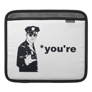 You're Your Grammar Police Sleeve For iPads
