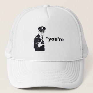 You're Your Grammar Police Trucker Hat