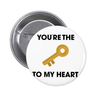 YoureThe Key To My Heart Button