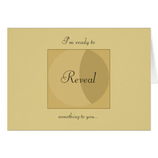 YouReveal.com Notecard Stationery Note Card