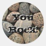 ¡YouRock! Etiqueta Redonda