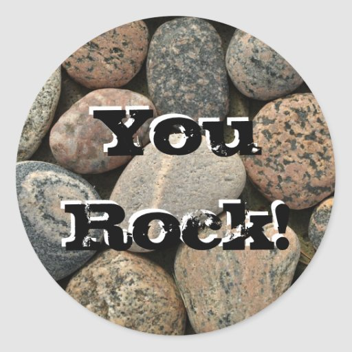 YouRock! Round Sticker