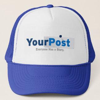 YourPost Hat Light Blue