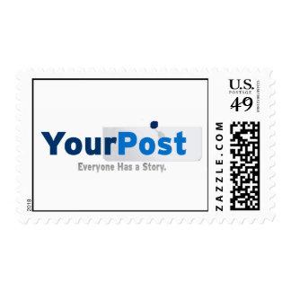YourPost Logo Stamp