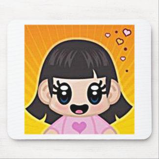 yourri girl pink mousepads