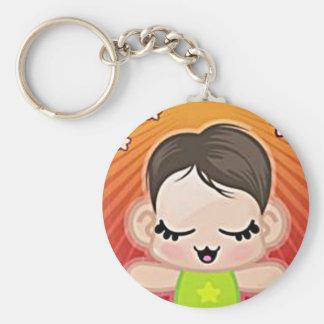 yourri lil green peep basic round button keychain