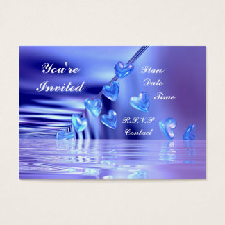 Yours Bluely - Chubby Business Card