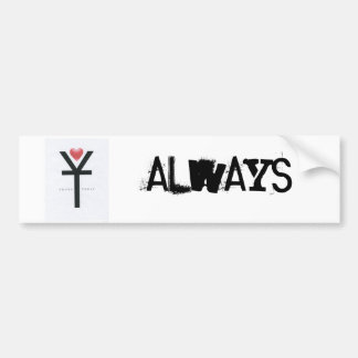 yours Truly bumper Sticker 2