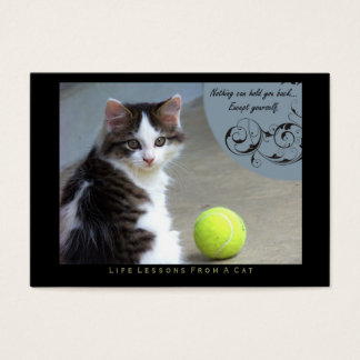 Yourself Life Lessons From a Cat ACEO Art Cards