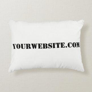YourWebSite.com Accent Pillow