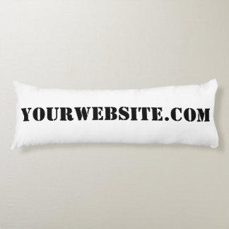 YourWebSite.com Body Pillow