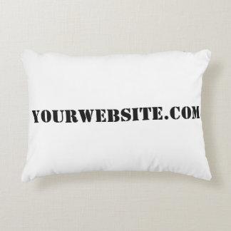 YourWebSite.com Decorative Pillow