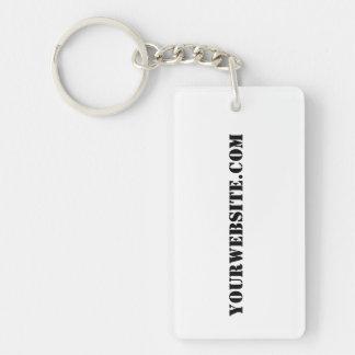 YourWebSite.com Keychain