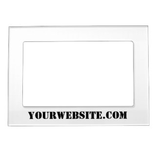 YourWebSite.com Magnetic Picture Frame