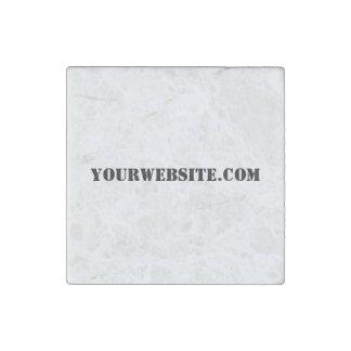 YourWebSite.com Stone Magnet