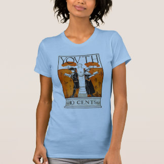 Youth 10c W's pale blue T-Shirt