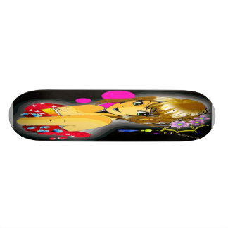 youth and spring time skateboard