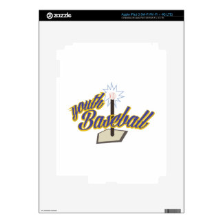 Youth Baseball iPad 3 Decal
