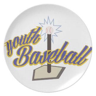 Youth Baseball Plate