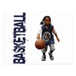 Youth Basketball Postcard