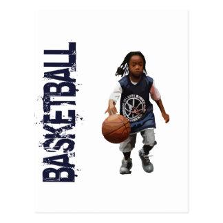 Youth Basketball Postcard