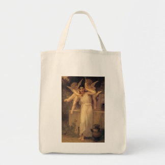 Youth by Bouguereau, Vintage Angels, Victorian Art Bag