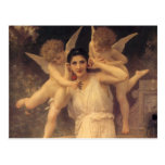 Youth by Bouguereau, Vintage Angels, Victorian Art Post Card