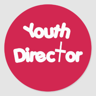 Youth Director Classic Round Sticker