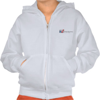 Youth Education Plus Basic Logo Zip Front Hoodie