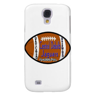 Youth Football Alliance Central Dekalb Jaguars Whi Samsung Galaxy S4 Cover
