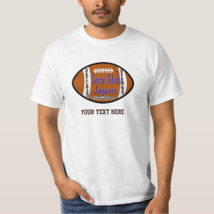 Youth Football Alliance Central Dekalb Jaguars Whi T Shirt