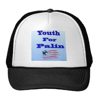 Youth for Palin Ball Hat