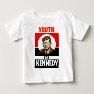 Youth for President John F. Kennedy Baby T-Shirt