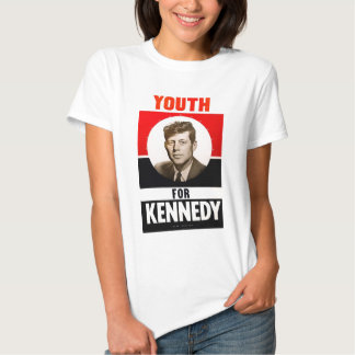 Youth for President John F. Kennedy Tee Shirts