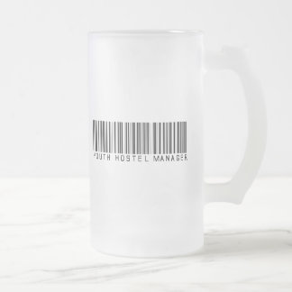 Youth Hostel Manager Bar Code Coffee Mug