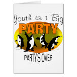 Youth Is 1 Big Party Cards