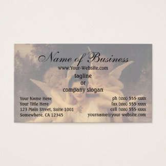Youth (Jeunesse) by William Adolphe Bouguereau Business Card