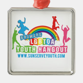 Youth-Logo.png Metal Ornament