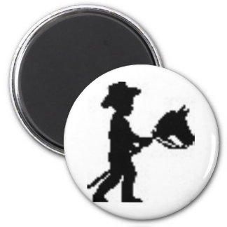 Youth National Day of the Cowboy 2 Inch Round Magnet