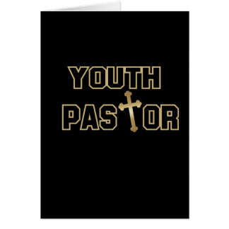 Youth Pastor Gifts Card