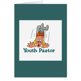 Youth Pastor Humorous Card
