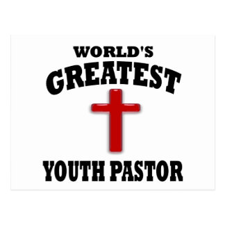 Youth Pastor Postcard
