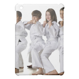 youth practicing martial arts 2 iPad mini covers
